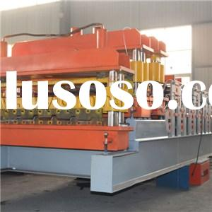 Metal Color Steel Plate Roofing Tile Double Layer Roll Forming Machine