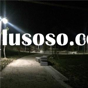 Solar Powered LED Yard Light In Park Outside Garden Solar Lighting
