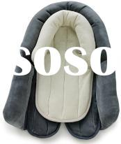 Thick Foam Soft Fabric Side-protection Gr0  Baby Car Seat Luxuary Sleeping Cushion Pad