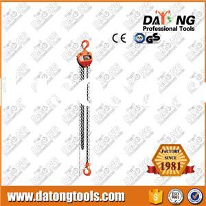 1Ton Manual Operated Chain Hoist Truck Lift