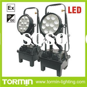 24V Rechargeable LED Explosion-proof Portable Work Light Inspection Light With Lift Pole