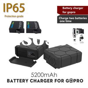 for Gopro Ahdbt-401 Mini USB Dual Charger for Gopro Hero 4 Battery