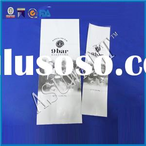 Foil Side Gusset Coffee Bags With Valve