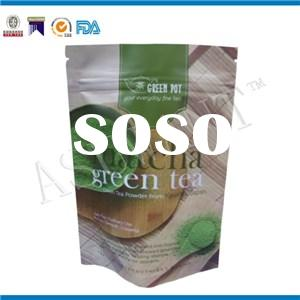 Aluminum Foil Stand Up Tea Packaging Bag