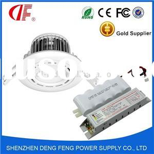 3 Watt LED Emergency Mini Downlight With 3 Hour Maintained/Non Maintained Power Backup