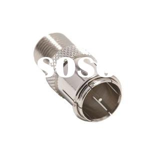Push On F Quick Male Connector To F Female Adapter (CT5072)