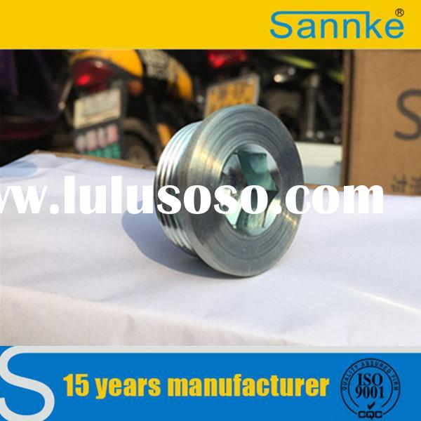 Carbon steel zinc plated low price hydraulic plug of Sannke