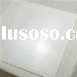 Glossy Clear PVC Book Cover