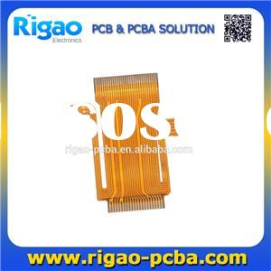 0.15mm thickness flexible PCB, 1OZ copper thickness FPC board with gold finger