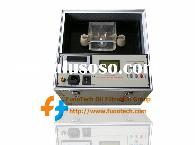 Series FOT Fully Automatic Transformer Oil BDV (Dielectric Strength) Tester