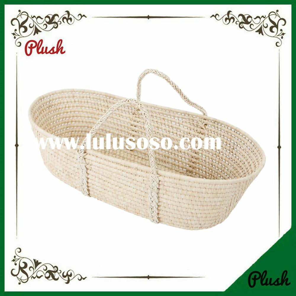 China Best Quality Wholesale baby sleeping and carryin maize Moses Baskets