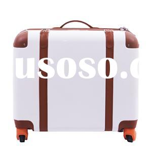 Color White-trolley Case Luggage Bag