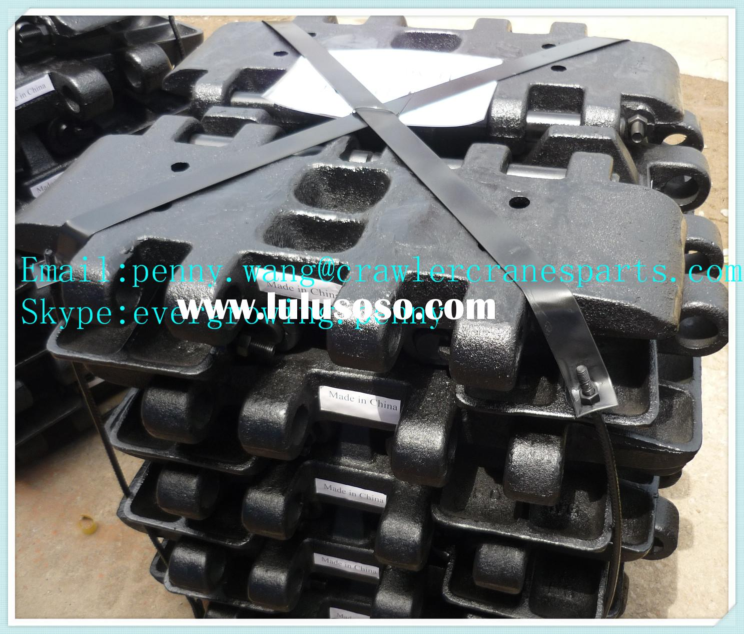 crawler crane track shoe for HITACHI KH100D