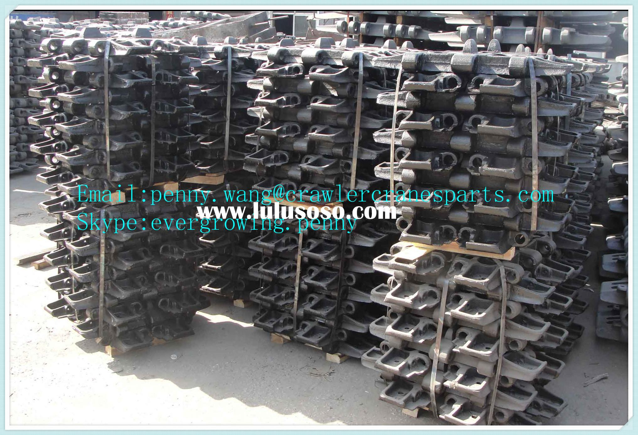 Crawler crane track shoe for HITACHI KH125