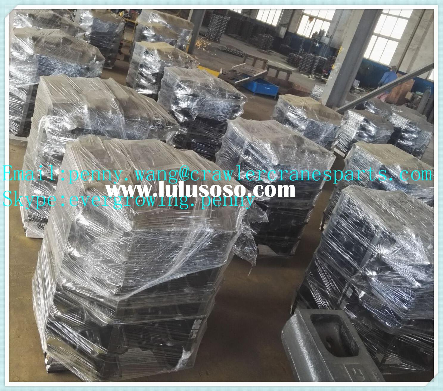 Crawler crane track shoe for HITACHI KH150-3