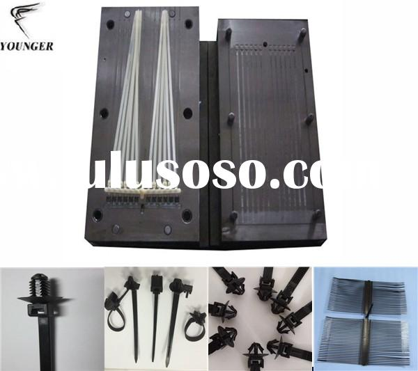 screw head automotive nylon cable tie injection mould