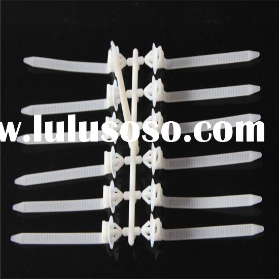 automotive car plastic nylon cable tie injection mould factory in taizhou