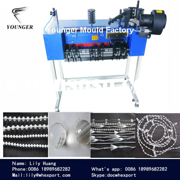 curtain roller blinds r\rosary beads plastic ball chain making machine machinery