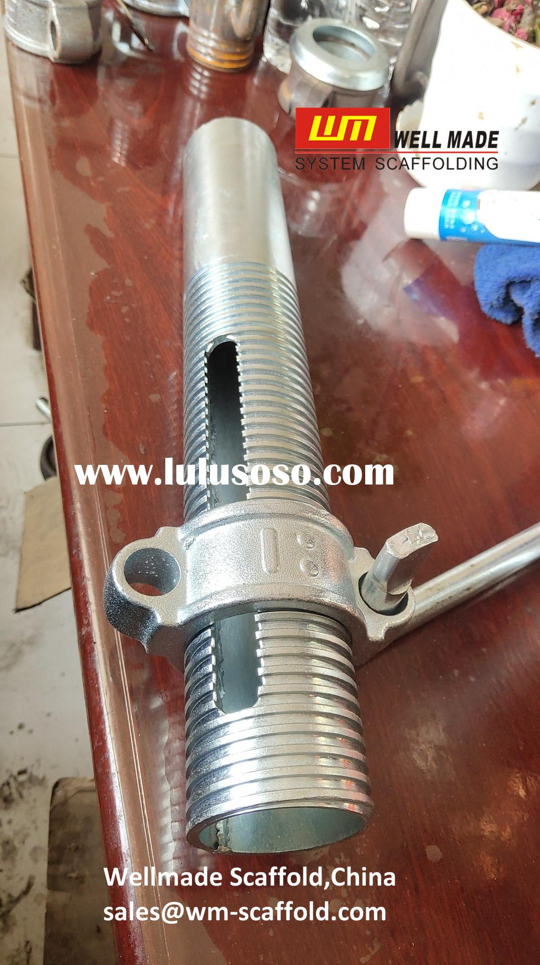 Formwork Scaffolding Prop Sleeve with Nut and Handle