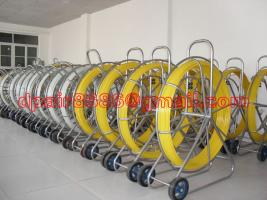 Duct rod/Push rod /Fiberglass conduit rod reel