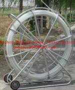 fiberglass conduit rod reel,fiberglass duct rod,drain cable