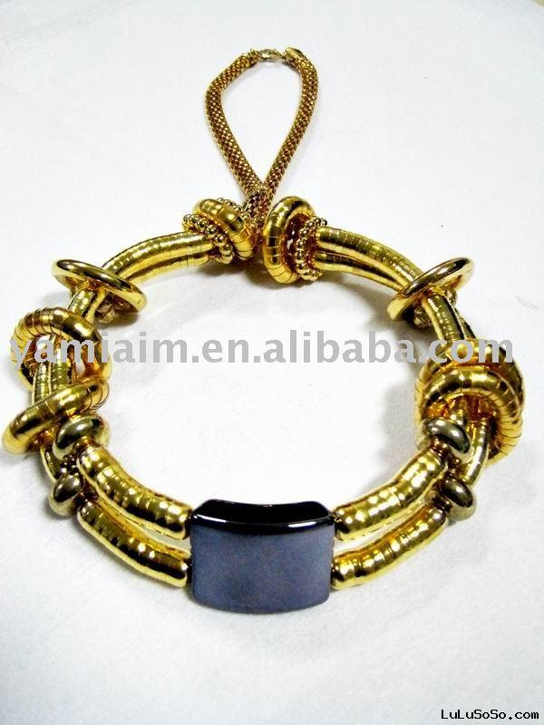 2011 Gold necklaces stainless steel jewelry