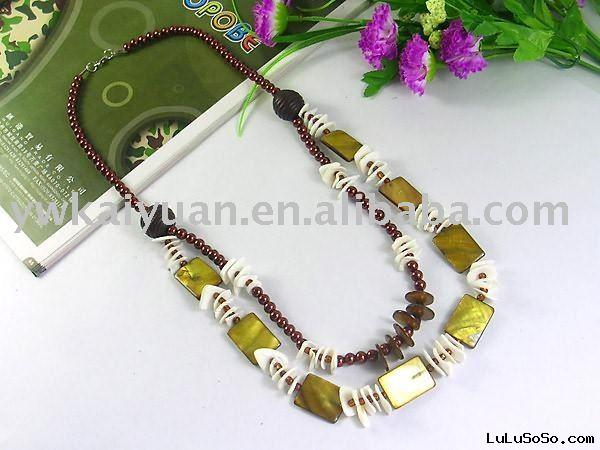 2011 fashion shell jewelry necklace