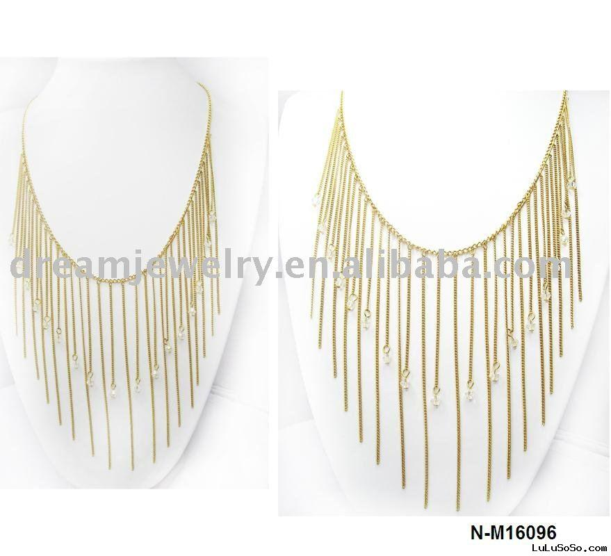 2011 new design gold necklace
