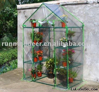 4tiers plastic Greenhouse Equipment