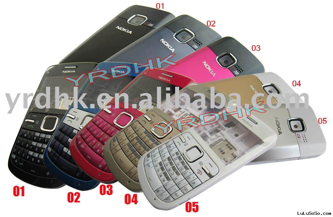 5 Colors Full Housing Cover for Nokia C3