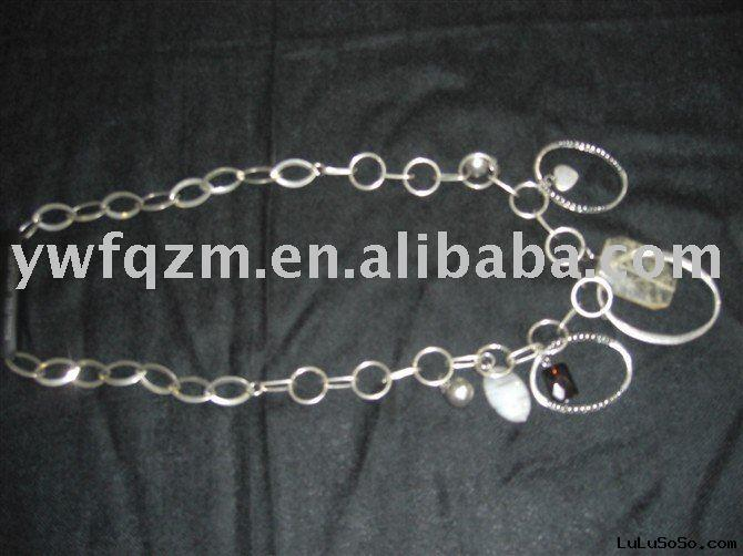 Alloy Charm Necklace