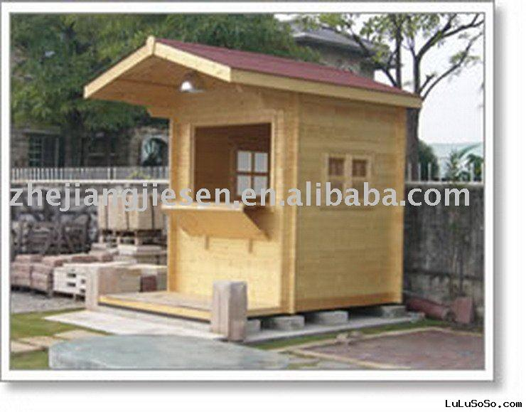 BOOTH WOODEN HOUSE