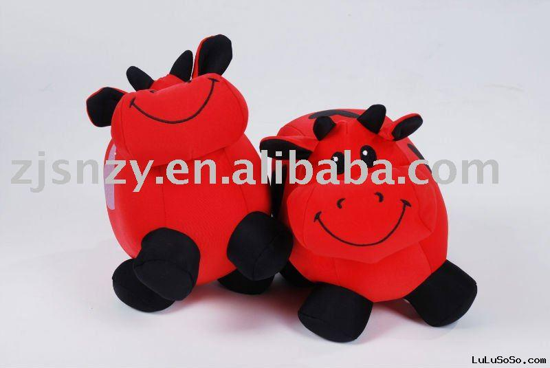 Bamboo Charcoal Toy Cow