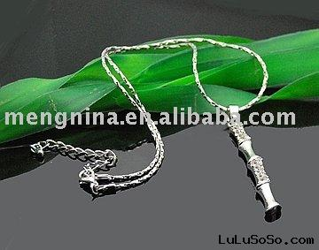 Bamboo pendant necklaces N00034