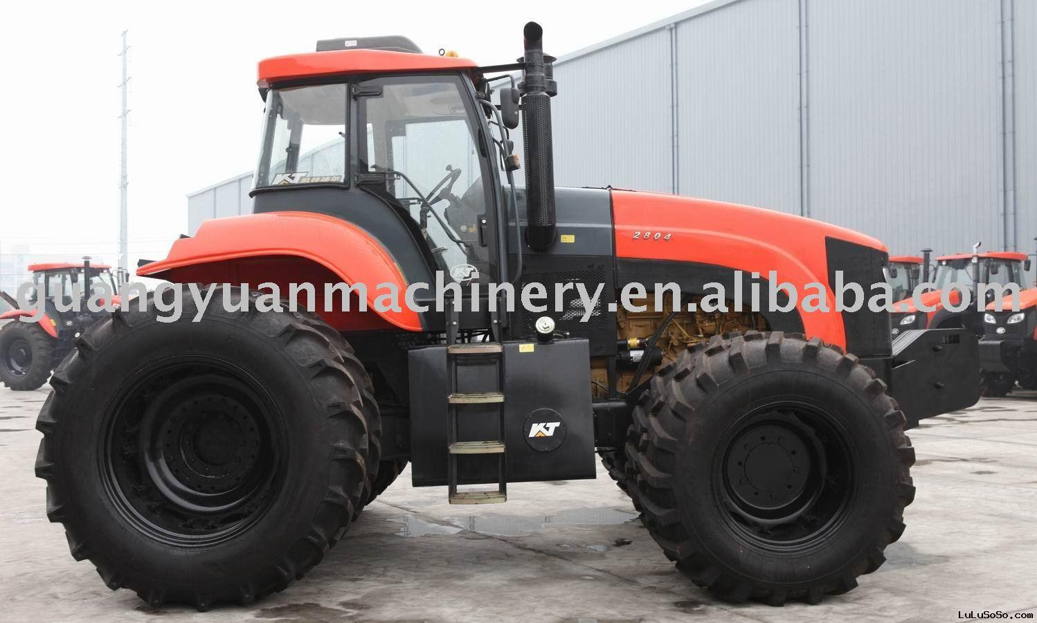 Big tractor 280HP 4WD with cabin