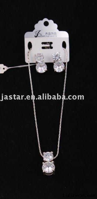 Diamond Necklace/Earing Set