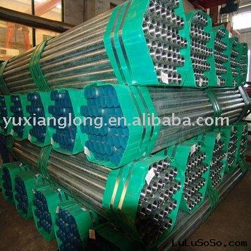 Electrogalvanizing steel pipe