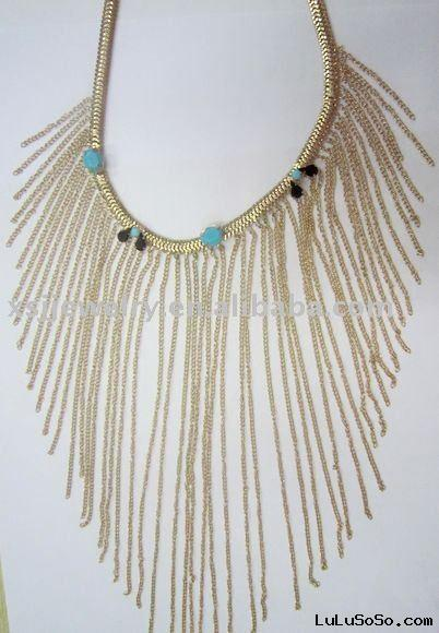 Fashion gold chains  necklace