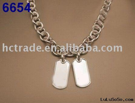 Fashion mens gold necklace