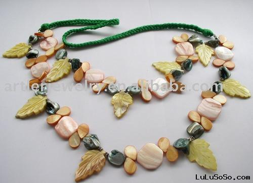 Fashion seashell necklace jewelry