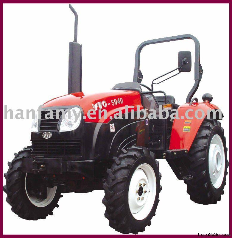 Four-wheel Farm Tractor YTO-504D E3 Standard