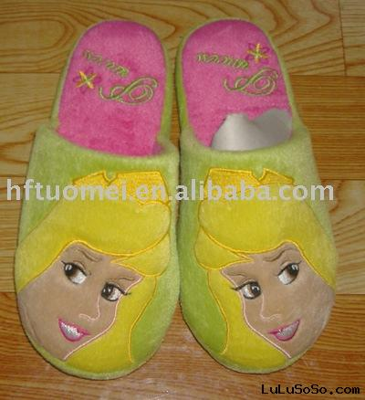 Indoor Slippers, House Slippers, lady plush Slippers
