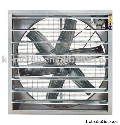 Industrial ventilator for greenhouse