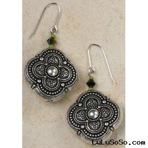 Jewelry Arabic Bead Earrings