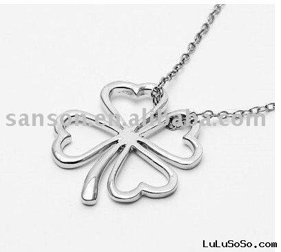 Korean Clover Necklace