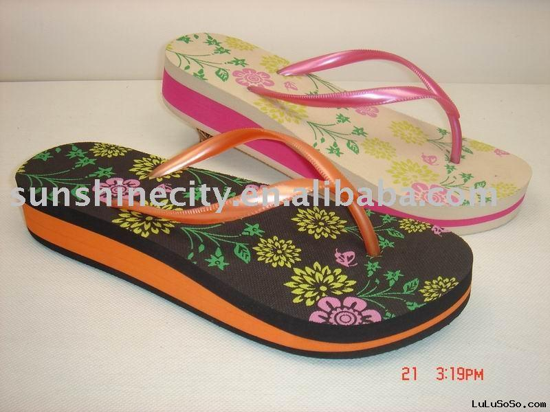 LADIES EVA FOAM SLIPPERS