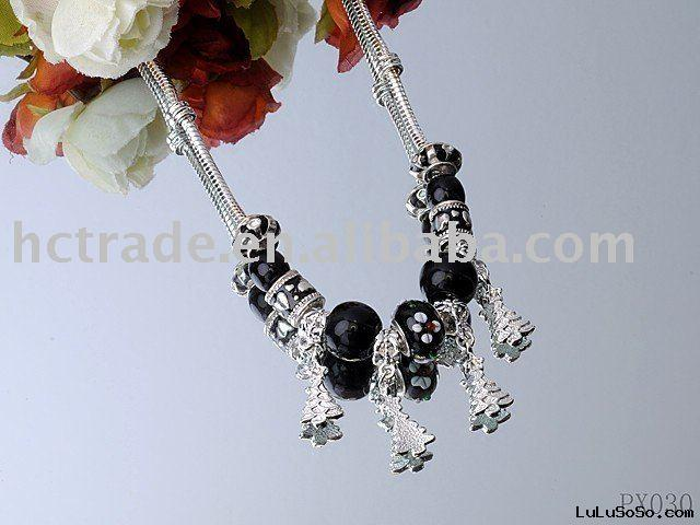 Ladies elegant black necklace