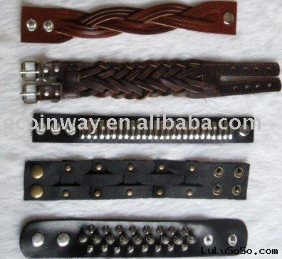 Leather bracelet, Leather bracelet factory in Yiwu, Guangzhou