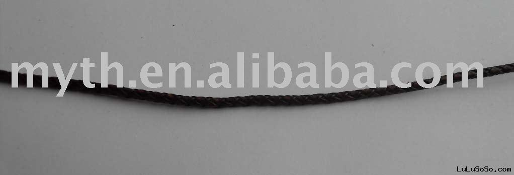 Leather braided cord( BLC024)