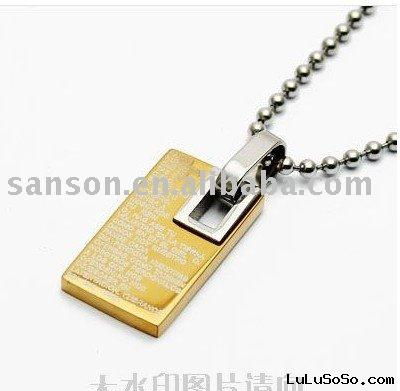 Men Necklace - Gold Fields